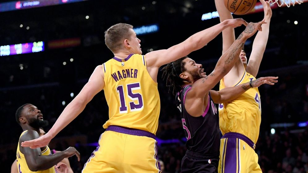 Moritz Wagner verlor mit den Los Angeles Lakers - Bildquelle: AFPGETTY SIDHarry How
