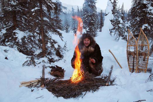 Life below Zero - Überleben in Alaska - Zwischen Eis und Schnee kann ein Feue...