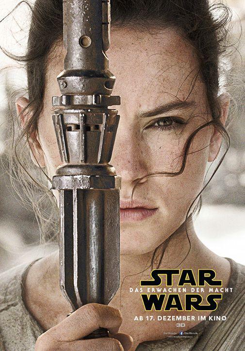 Star-Wars-Das-Erwachen-der-Macht-Poster-Rey-Walt-Disney - Bildquelle: Walt Disney Studios Motion Pictures