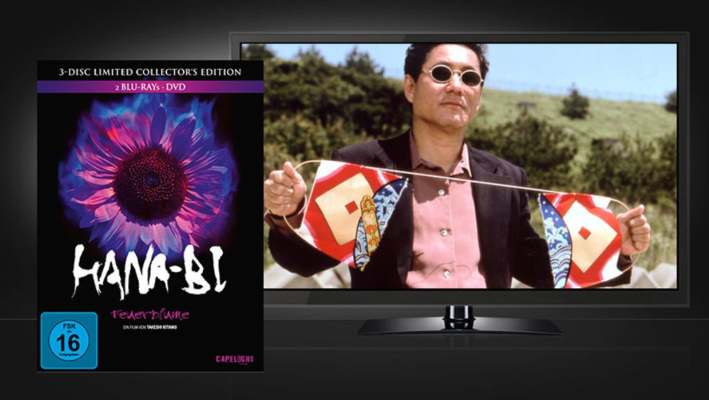 Hana-Bi (Blu-ray + DVD) - Bildquelle: Capelight Pictures
