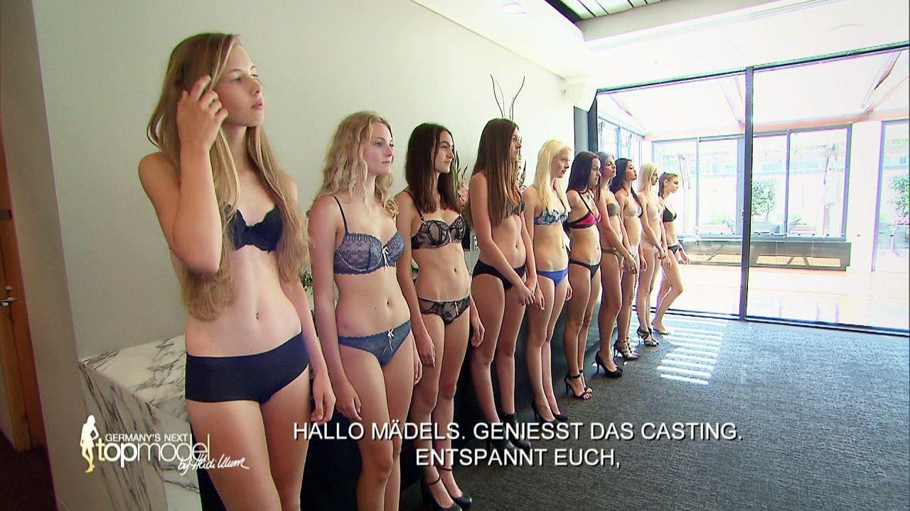 GNTM-Stf10-Epi09-Casting-Heidi-Klum-Intimates-11-ProSieben - Bildquelle: ProSieben