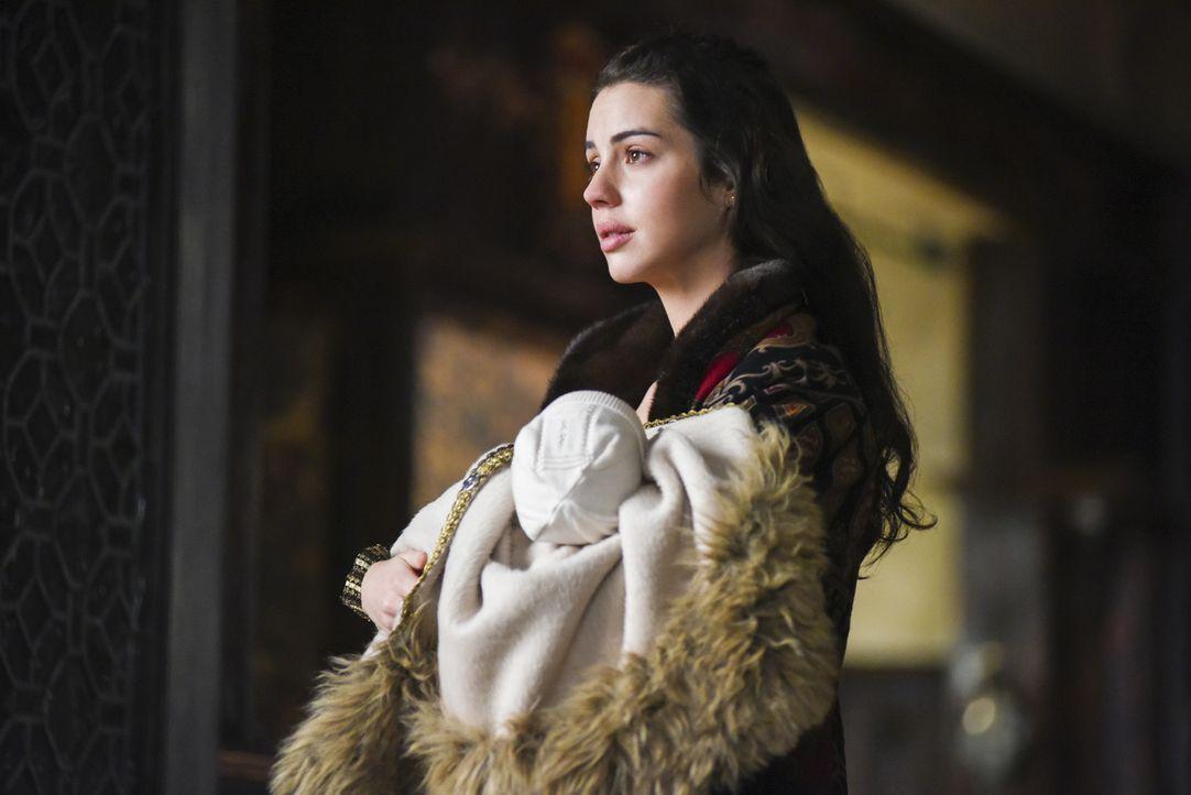 Nach der Geburt ihres Sohnes tut Königin Mary (Adelaide Kane) alles, um ihren Thronfolger zu beschützen ... - Bildquelle: John Medland John Medland /The CW --   2017 The CW Network, LLC. All Rights Reserved.