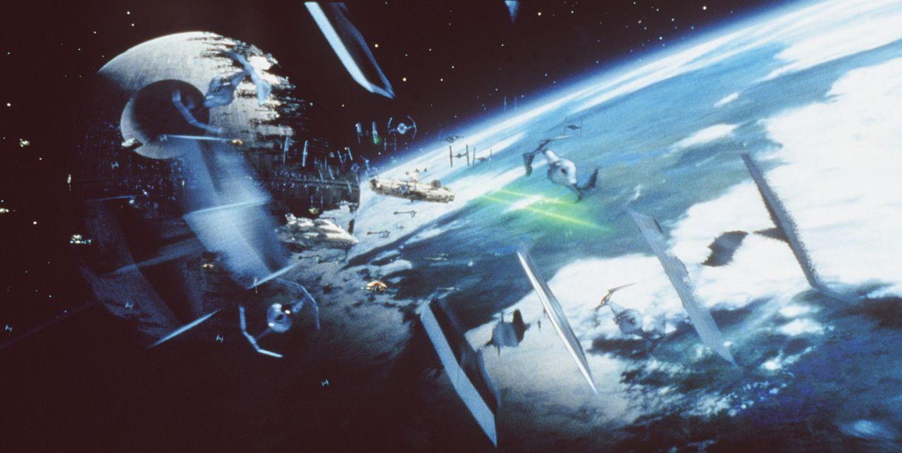 Angriff auf den Todesstern ... - Bildquelle: Lucasfilm LTD. & TM. All Rights Reserved.