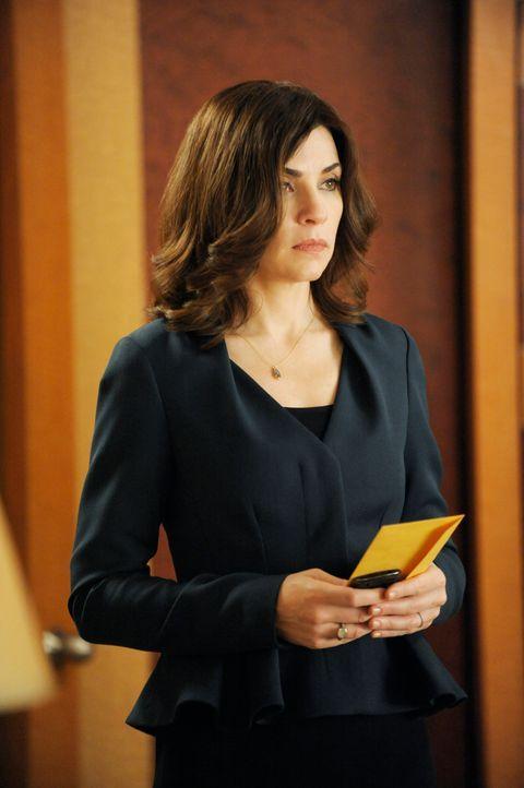 Alicia (Julianna Margulies) trifft eine Entscheidung, die alle verwundert ... - Bildquelle: Jeffrey Neira 2012 CBS Broadcasting, Inc. All Rights Reserved
