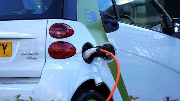 Elektroauto-Ladevorgang