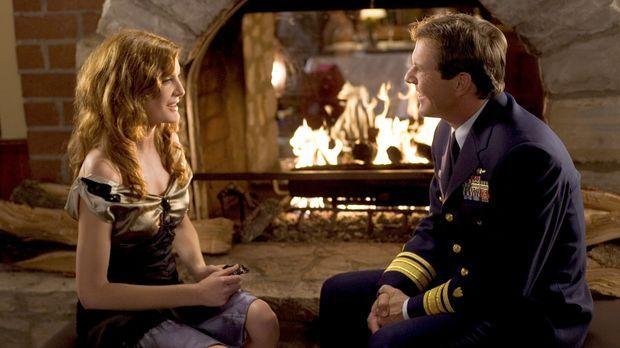Als der verwitweter Soldat Frank Beardsley (Dennis Quaid, r.) Helen North (Re...
