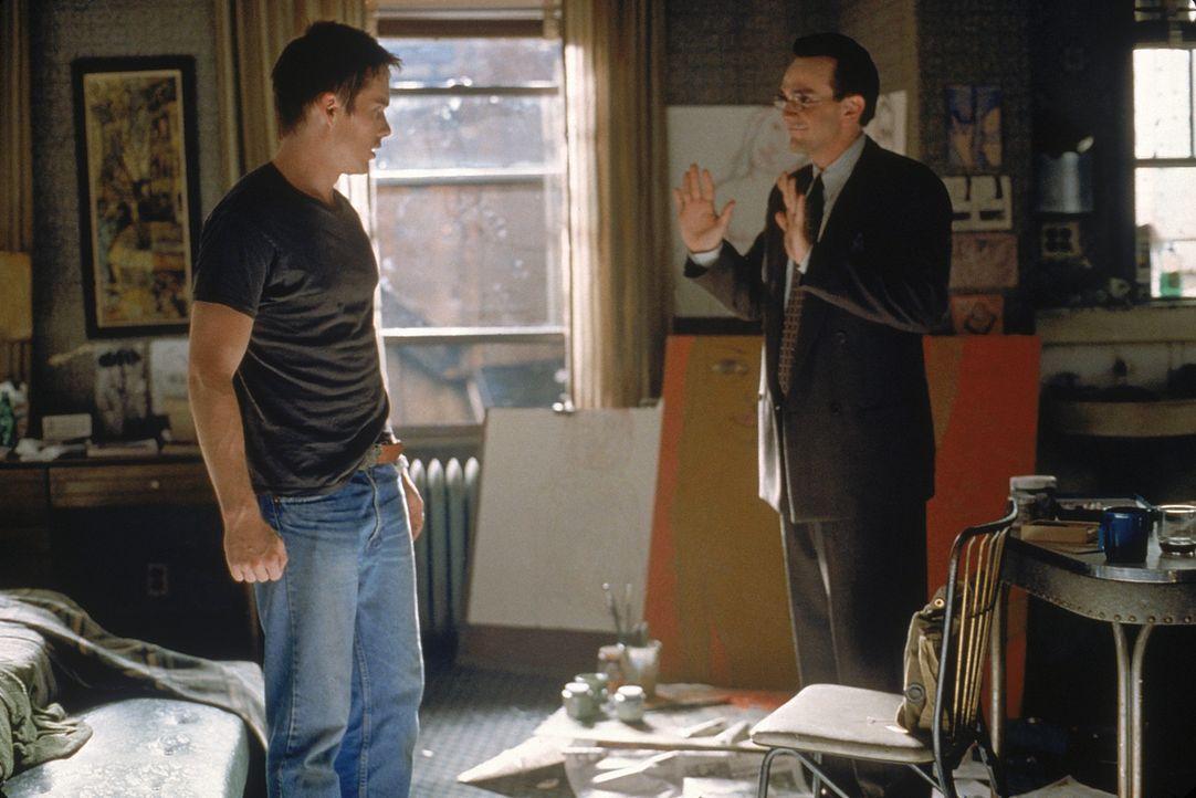 Finnegan Bell (Ethan Hawke, l.) kann nicht glauben, dass seine große Liebe den wohlhabenden Architekten Walter Plane (Hank Azaria, r.) heiraten will. - Bildquelle: 20 Century Fox