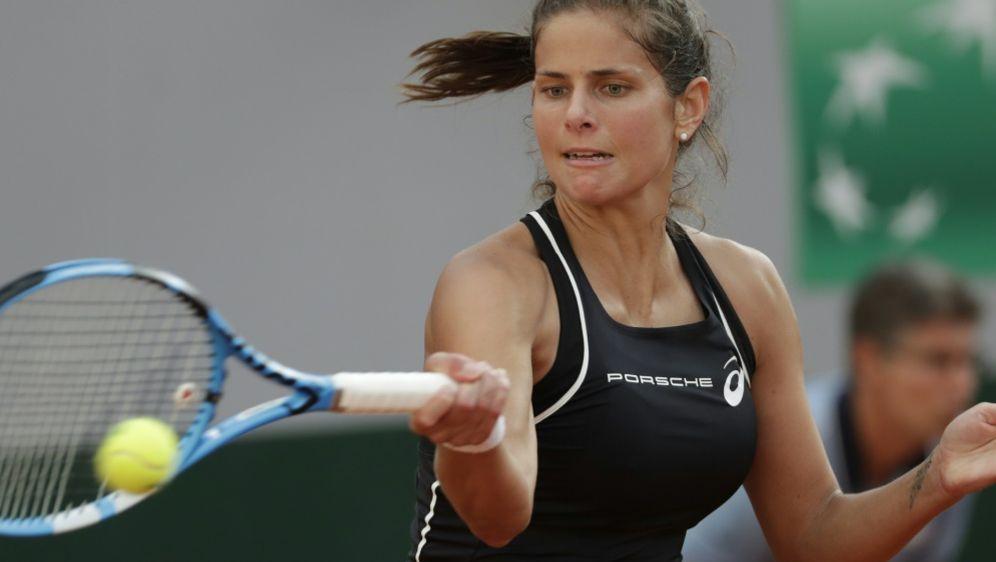 Julia Görges kämpft sich in Montreal in Runde zwei - Bildquelle: AFPSIDTHOMAS SAMSON