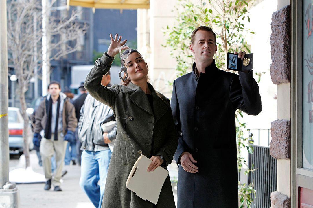 Arbeiten an einem neuen Fall: Ziva (Cote de Pablo, l.) und McGee (Sean Murray, r.) ... - Bildquelle: CBS Television