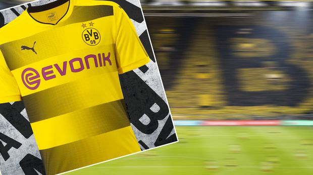 borussia dortmund so sieht das neue heimtrikot 2017 2018 aus. Black Bedroom Furniture Sets. Home Design Ideas
