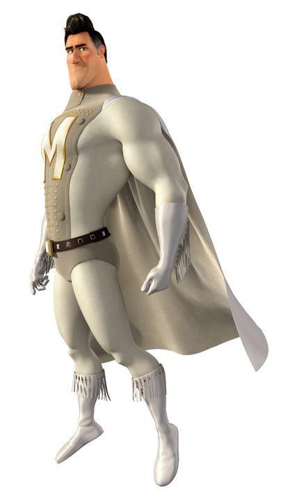 Traum aller Mütter und ewiger Gegenspieler des bösen Megamind: Der Superheld Metroman ... - Bildquelle: MEGAMIND TM &   2012 DreamWorks Animation LLC. All Rights Reserved.