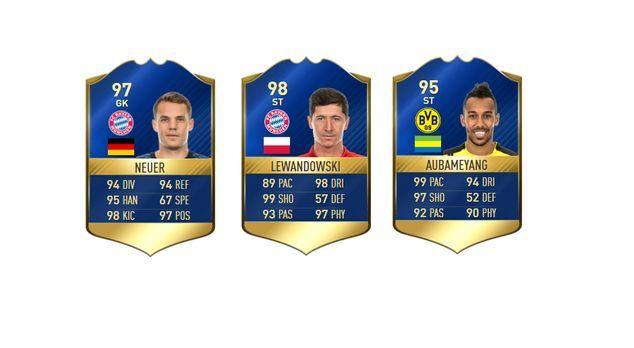 FIFA 17: Bundesliga-Team des Jahres - Bildquelle: EA Sports