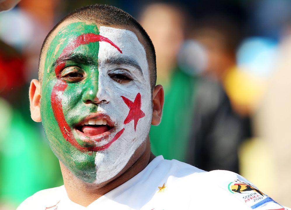 Die auffallendsten Algerien Fans - Bildquelle: EPA-dpa