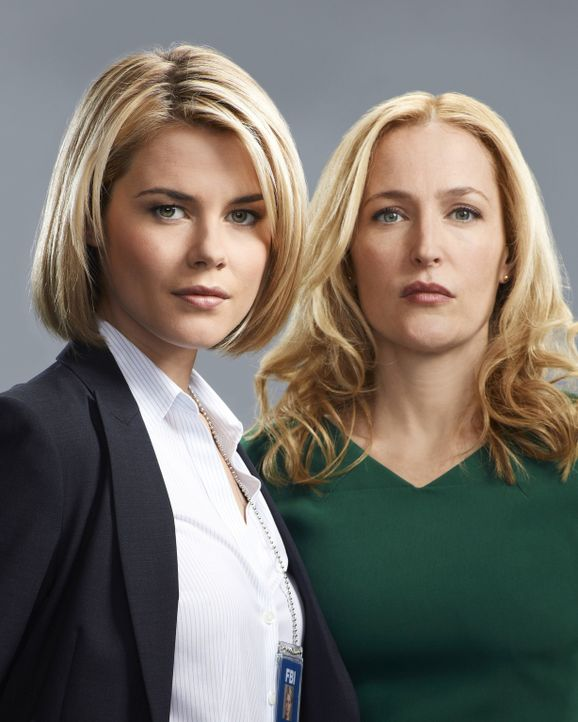 (1. Staffel) - Haben eine schwierige Beziehung zueinander: FBI-Agentin Susie Dunn (Rachael Taylor, l.) und ihre Schwester Meg Fitch (Gillian Anderso... - Bildquelle: 2013-2014 NBC Universal Media, LLC. All rights reserved.