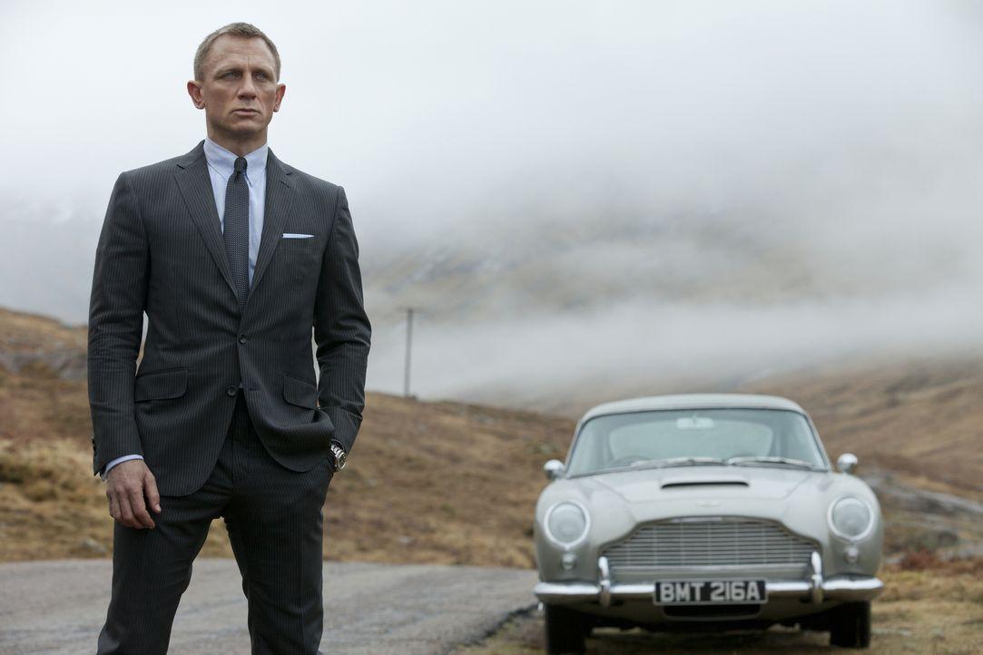 Agent mit der Lizenz zum Töten: 007 (Daniel Craig) ... - Bildquelle: Skyfall   2012 Danjaq, LLC, United Artists Corporation and Columbia Pictures Industries, Inc. All rights reserved.