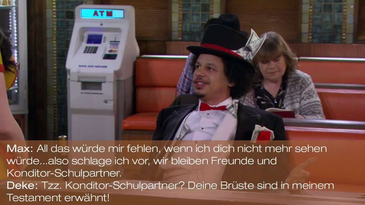 2-Broke-Girls---0316--Zitat-01 - Bildquelle: Warner Brothers
