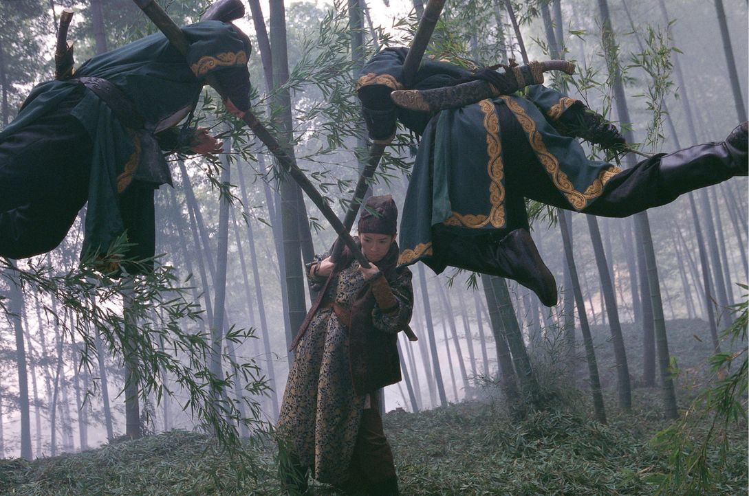 """Das """"House of Flying Daggers"""" ist den Herrschern der Tang-Dynastie schon lange ein Dorn im Auge. Zwar haben Soldaten es geschafft den Anführer zu e... - Bildquelle: Constantin Film"""
