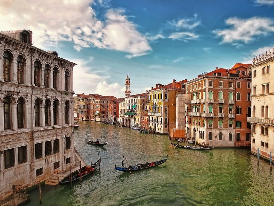Flitterwochen-Venedig