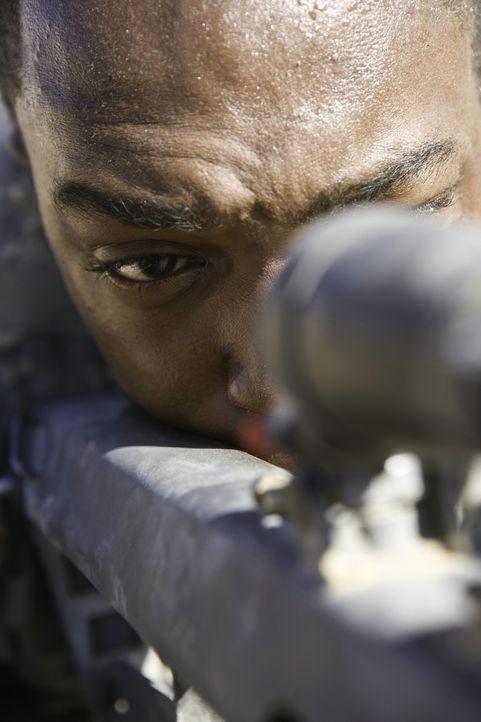 Sergeant JT Sanborn (Anthony Mackie) bezweifelt schon bald, dass er an der Seite seines neuen Vorgesetzten die wenigen Tage bis zur Heimreise überle... - Bildquelle: 2009 Concorde Filmverleih GmbH