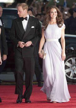 Der große Adelsreport - Eine königliche Liebe: Prinz William (l.) und seine K...