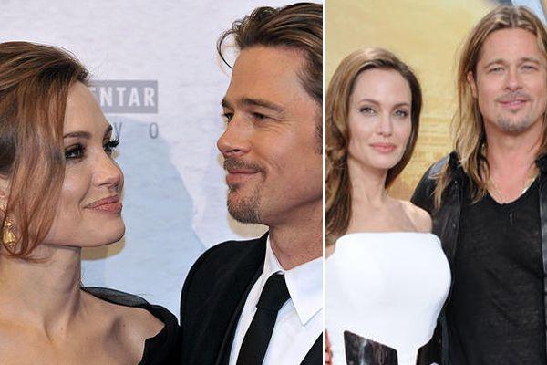 Angelina Jolie und Brad Pitt - Bildquelle: AFP; WENN
