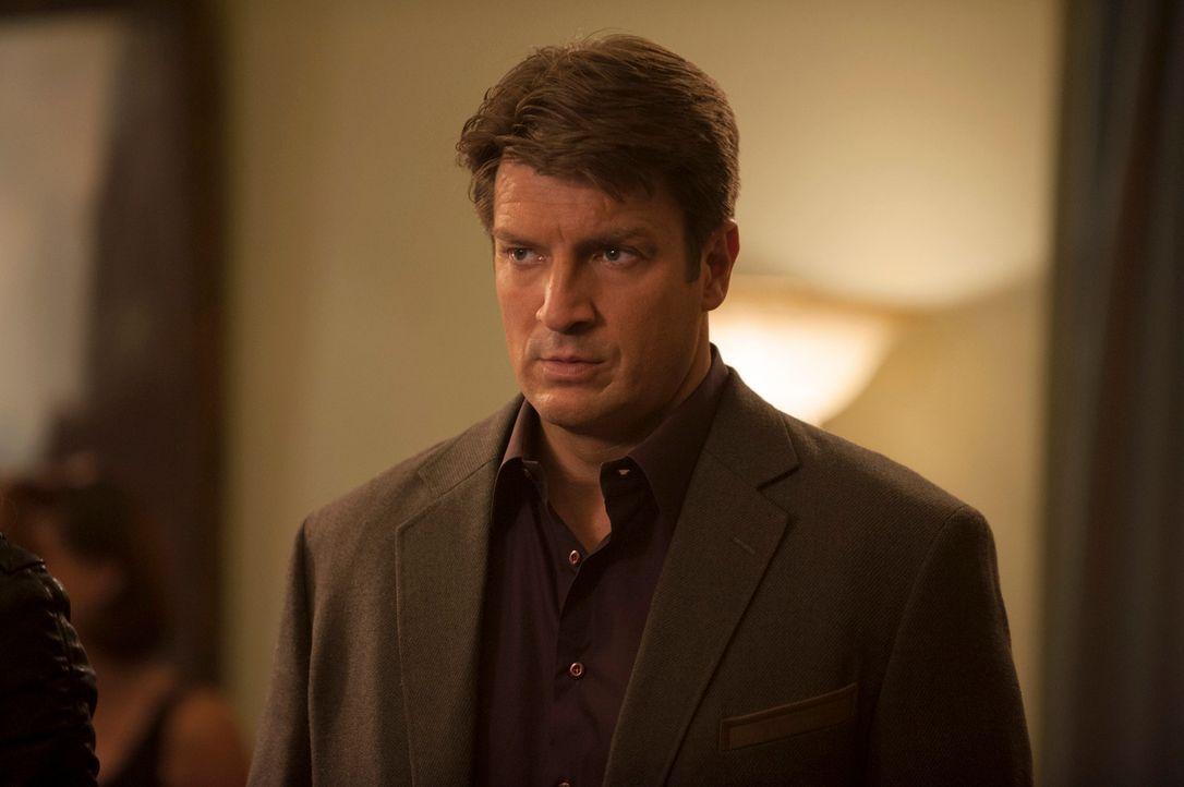 Castle (Nathan Fillion) will herausfinden, was hinter dem Mord an einem bekannten Billard-Profi steckt ... - Bildquelle: Colleen Hayes ABC Studios