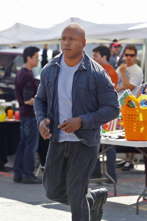 Um einen neuen Fall zu lösen, ermittelt Sam (LL Cool J) undercover ... - Bildquelle: CBS Studios Inc. All Rights Reserved.