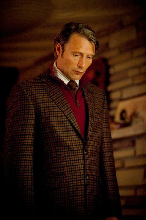 Wie lange kann Dr. Hannibal Lecter (Mads Mikkelsen) sein dunkles Geheimnis bewahren? - Bildquelle: Brooke Palmer 2012 NBC Universal Media, LLC