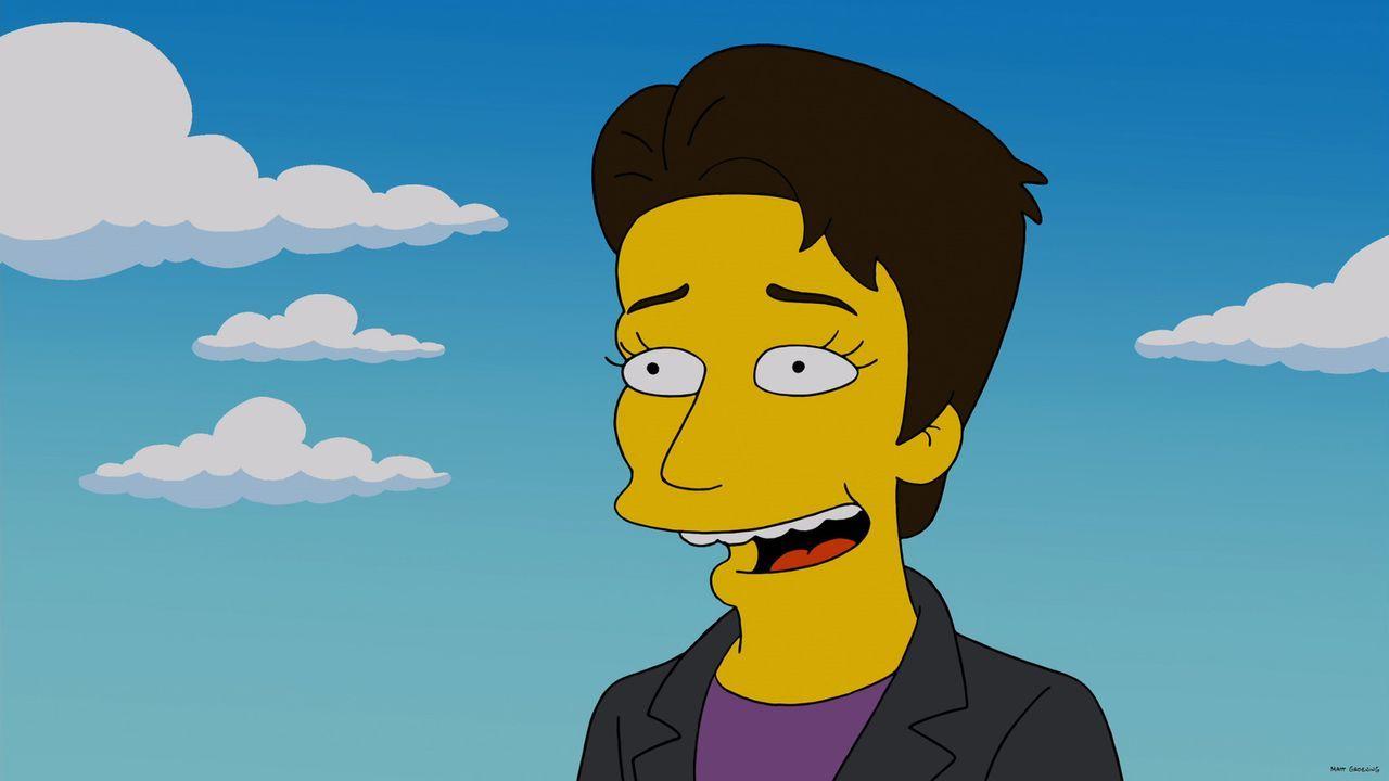 Wie wäre das Leben von Kent Brockman wohl verlaufen, wenn er in seiner Jugend die Heimat verlassen hätte, statt beim Lokalsender von Springfield zu... - Bildquelle: 2013 Twentieth Century Fox Film Corporation. All rights reserved.