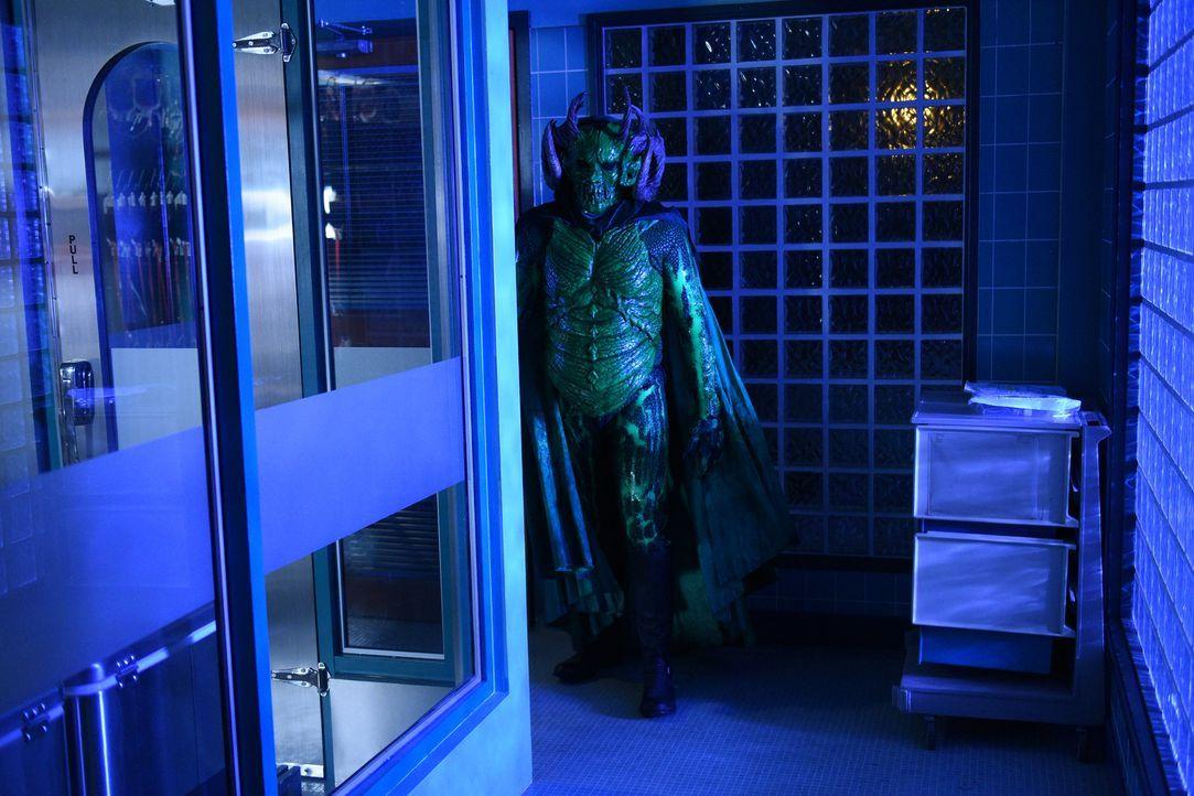Eine Enthüllung das grüne Monster (Riley Schmidt) betreffend, sorgt bei der Belegschaft des Krankenhauses für Schrecken ... - Bildquelle: 2016 Fox and its related entities.  All rights reserved.