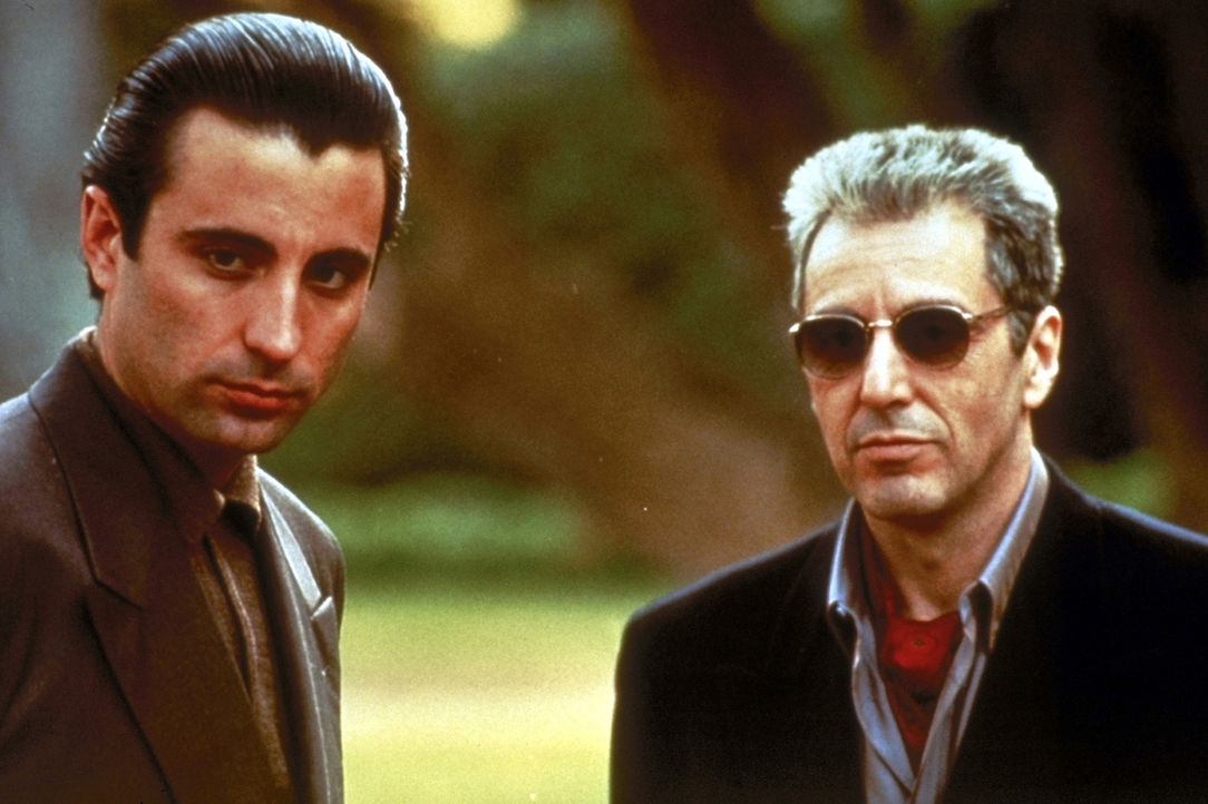 Selbstlos steht Vincent (Andy Garcia, l.) seinem Onkel Michael (Al Pacino, r.) in jeder Lebenslage zur Seite ... - Bildquelle: Paramount Pictures