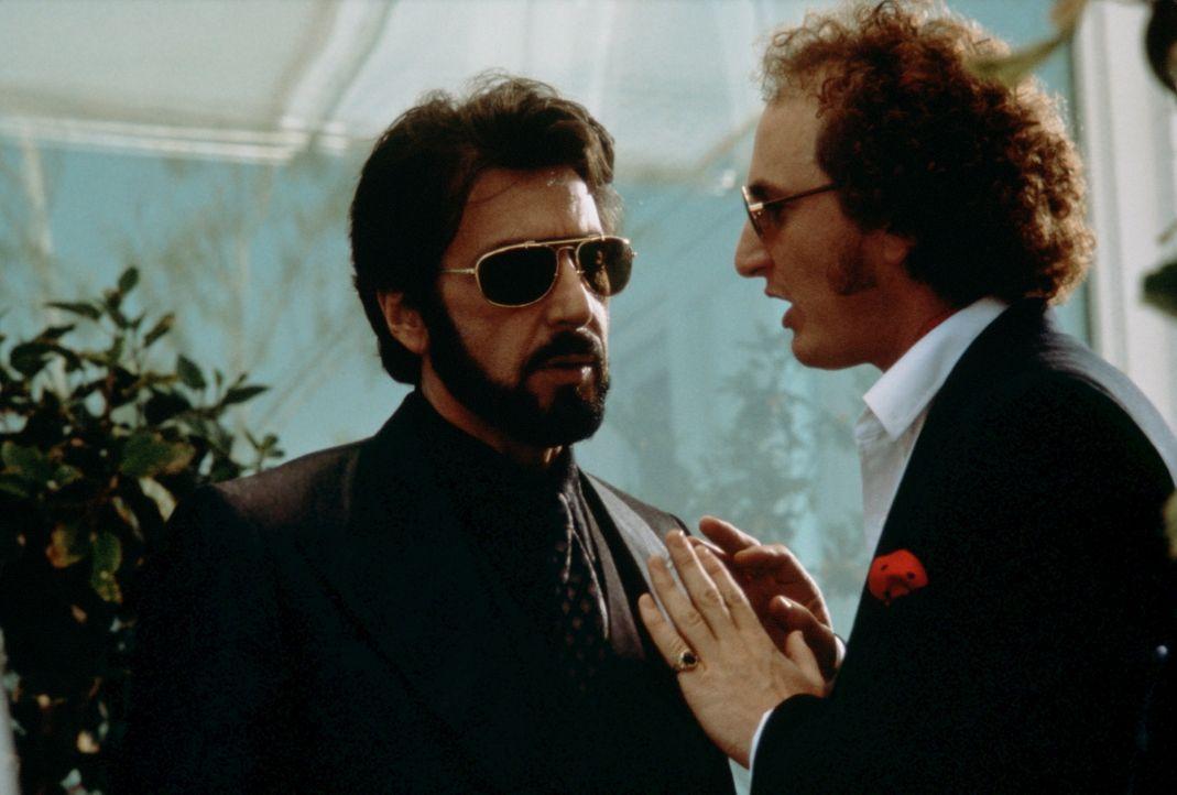 Für Carlito (Al Pacino, l.) steht fest: Er wird Schluss machen mit seiner kriminellen Vergangenheit und ein neues, sauberes Leben beginnen. Doch sei... - Bildquelle: Universal Pictures
