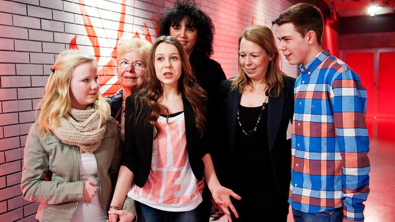 The-Voice-Kids-epi03-danach-Malin-1-SAT1-Andre-Kowalski - Bildquelle: SAT.1/Andre Kowalski