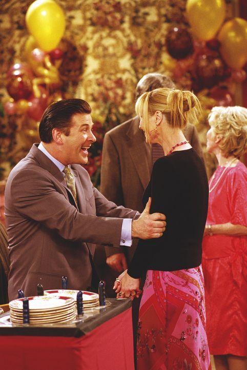 Phoebe (Lisa Kudrow) hat einen stets gutgelaunten Verehrer namens Parker (Alec Baldwin). - Bildquelle: TM+  WARNER BROS.