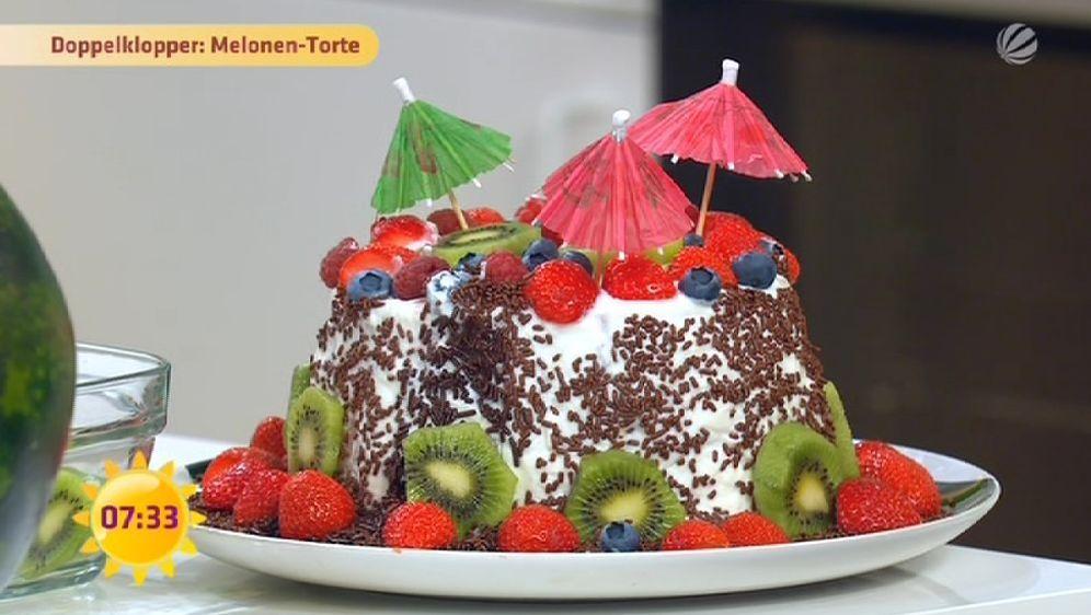 Melonen-Torte