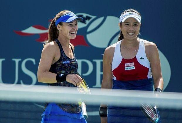 Martina Hingis (l.) und Yung-Jan Chan gewinnnen US Open
