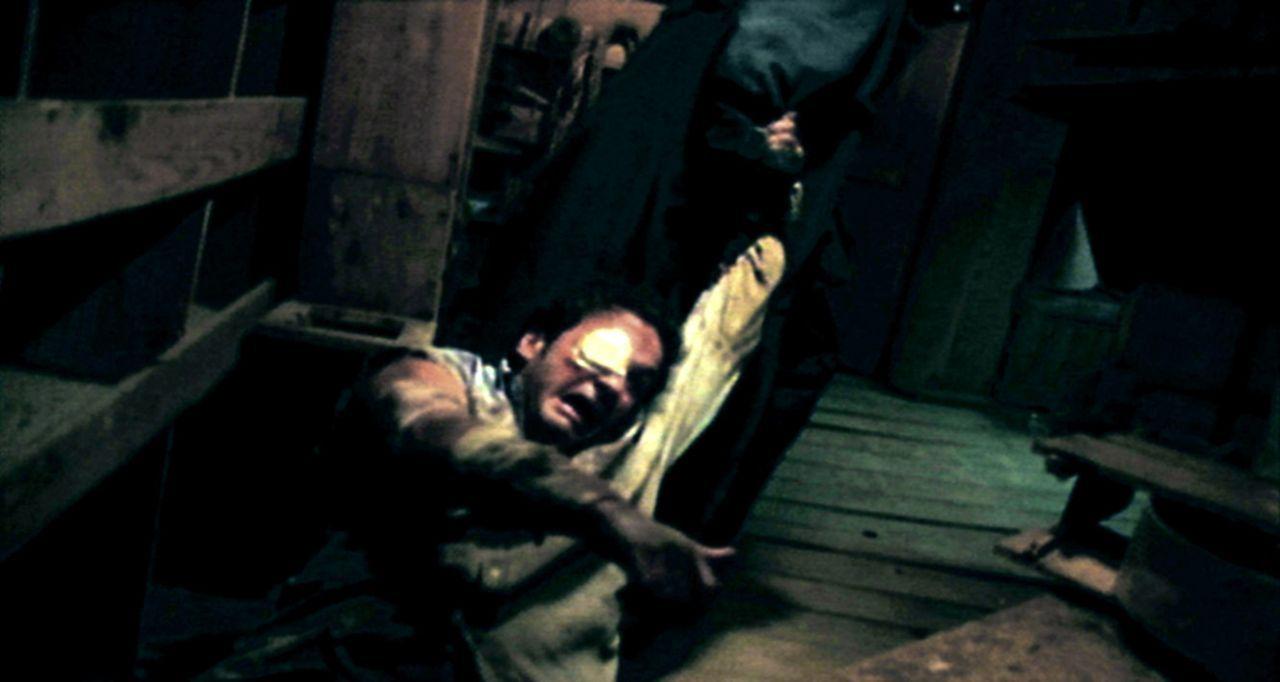 Nach einem Einbruch im Haus seines Auftraggebers, wird Truman Fisher, ein skrupelloser Gangster, damit beauftragt, den entführten Neffen (Marc Héber... - Bildquelle: Splendid Entertainment