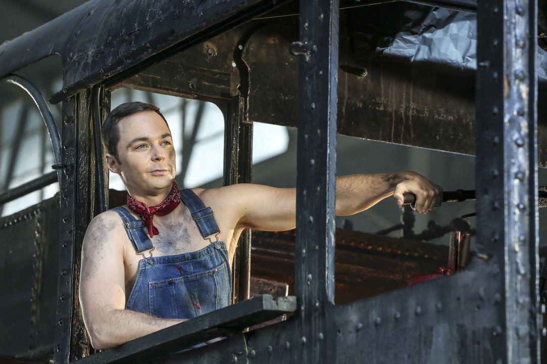 Sheldons (Jim Parsons) Traum wird wahr: Er erhält Tickets für eine historische Eisenbahnfahrt, die auch Amys Phantasie aufblühen lässt ... - Bildquelle: 2016 Warner Brothers