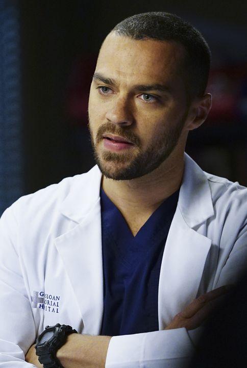 Muss von Arizona erfahren, dass er Vater wird: Jackson (Jesse Williams) ... - Bildquelle: Richard Cartwright ABC Studios
