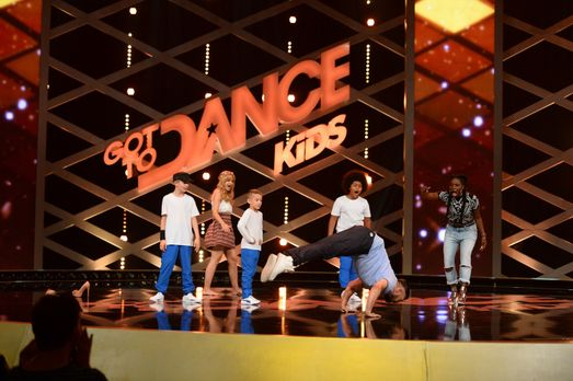 Got To Dance Kids - Die Jury Nikeata Thompson (r.), Susan Sideropolous (2.v.l...