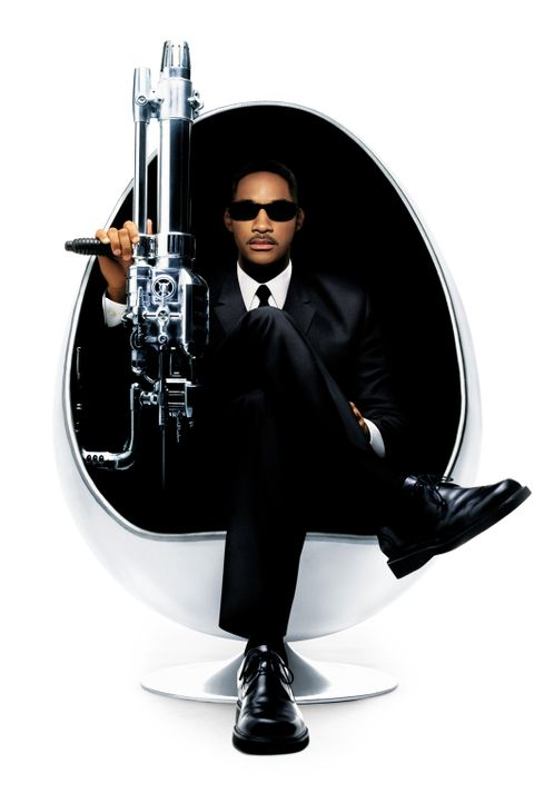 Immer einen lockeren Spruch parat: Agent J (Will Smith) ... - Bildquelle: 2003 Sony Pictures Television International