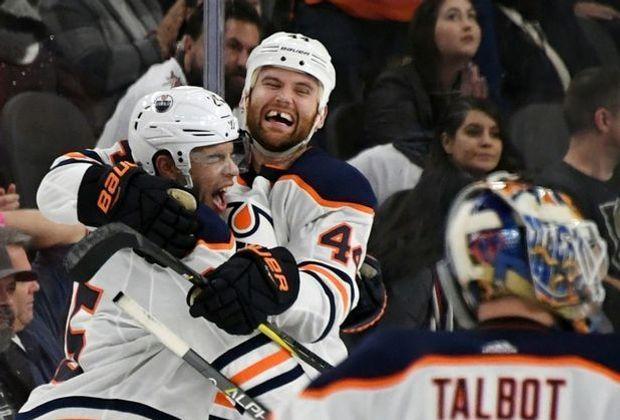 Draisaitls Oilers gewinnen überraschend in Las Vegas