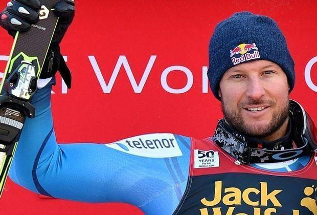 Aksel Lund Svindal droht das vorzeitige Saison-Aus