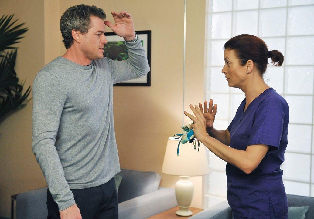 Addison (Kate Walsh, r.) und ihr Exkollege Mark (Eric Dane, l.) finden angesichts beidseitig schwieriger Lebenssituationen Trost beieinander. Damit... - Bildquelle: ABC Studios