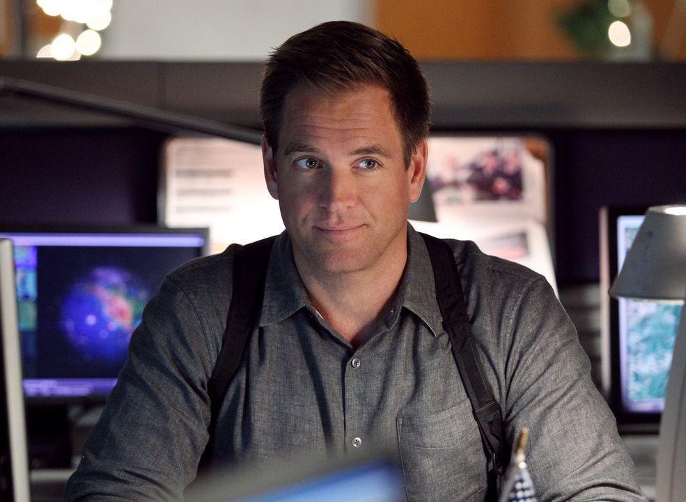 Gemeinsam mit seinen Kollegen muss Tony (Michael Weatherly) in einem Hackerangriff ermitteln ... - Bildquelle: CBS Television