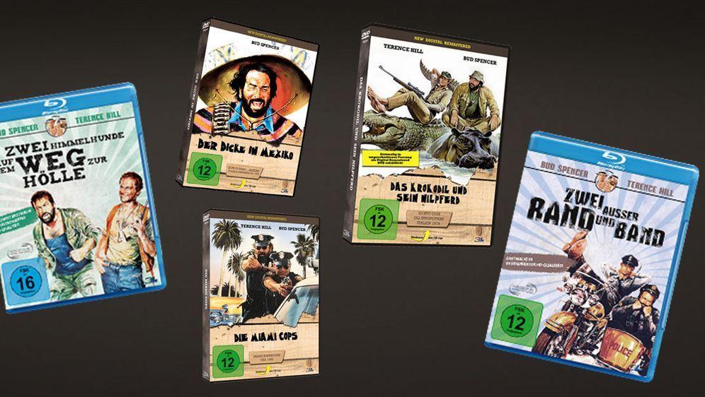 Facebook-Gewinnspiel zu K.O.stern: Bud Spencer Klassiker auf DVD und Blu-ra...