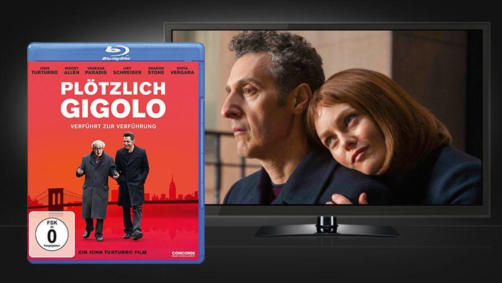 Plötzlich Gigolo (Blu-ray Disc)