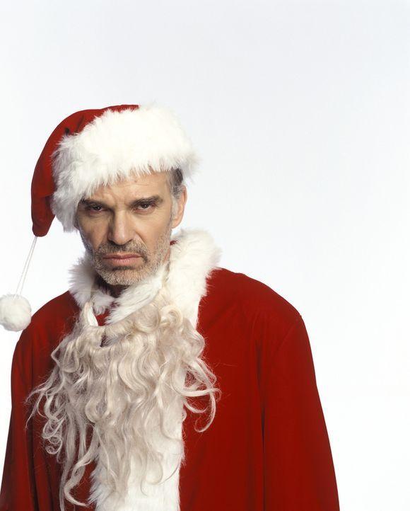Für Willie T. Stokes (Billy Bob Thornton) sind die vorweihnachtlichen Tage die schlimmsten im ganzen Jahr. Er arbeitet als Kaufhaus-Weihnachtsmann... - Bildquelle: 2006 Sony Pictures Television International.