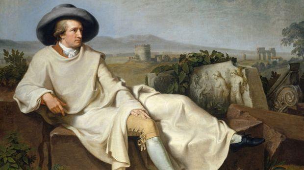 Johann Wolfgang von Goethe gilt heute als der bedeutendste Schriftsteller Deu...