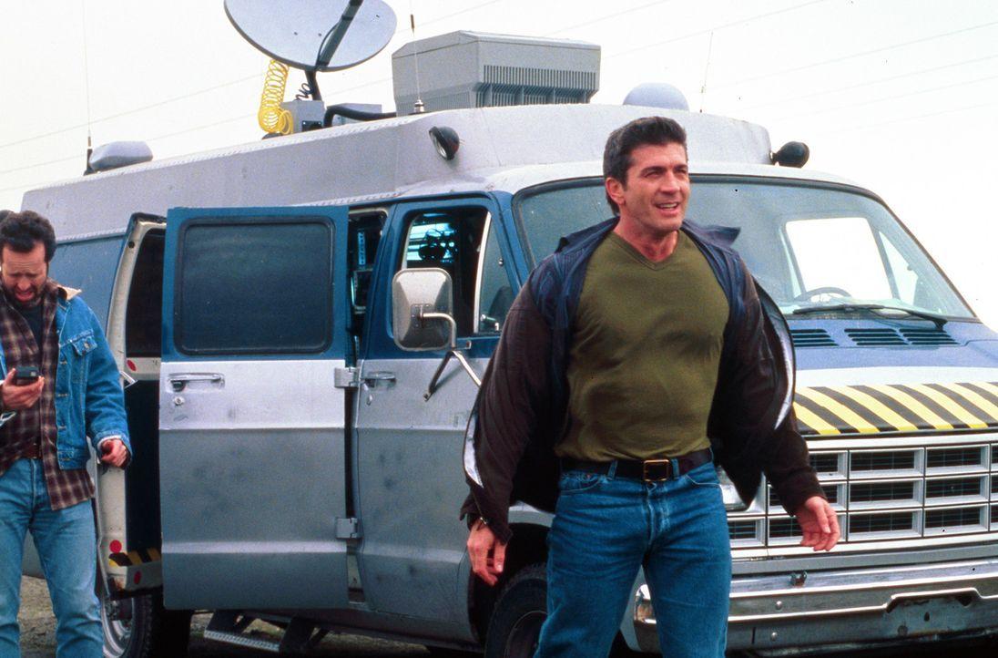 Pete Jensen (Joe Lando) ist der Beste, wenn es darum geht, Tornado-Vorhersagen für den mittleren Westen der USA zu machen. Doch eines Tages sorgt e... - Bildquelle: Cinetel Films Inc.